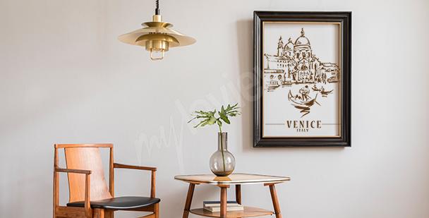 Poster Venise pour salon