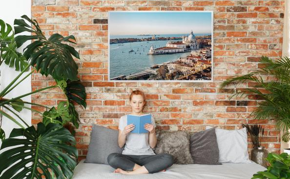 Poster Venise vue d'en haut