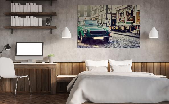Poster voiture vintage