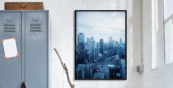 Poster vue de Montréal
