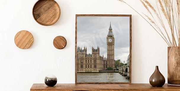 Poster vue sur le Parlement
