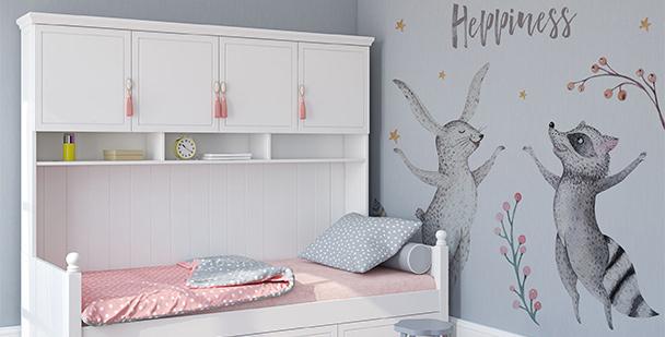 Sticker animaux pour chambre d'enfant
