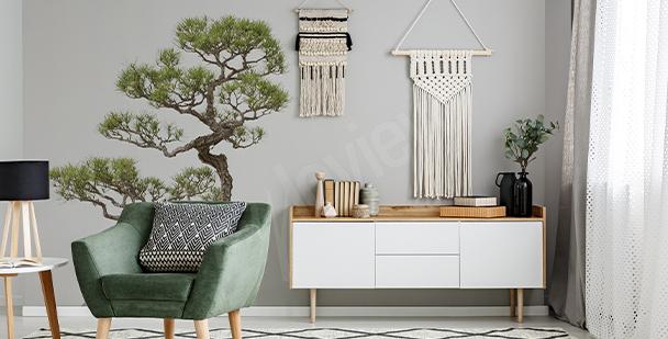 Sticker arbre bonsaï