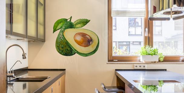 Sticker grappe de raisin pour cuisine