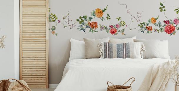 Sticker chambre à coucher style boho