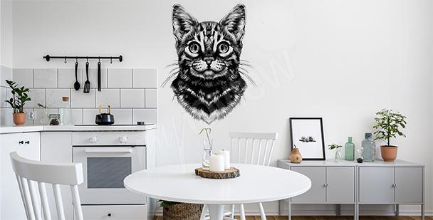 Sticker chat du bengale