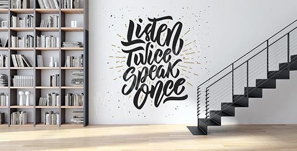 Sticker citation pour un espace moderne