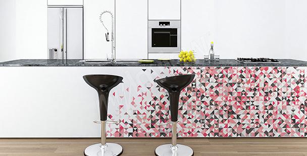 Sticker décoratif avec une mosaïque