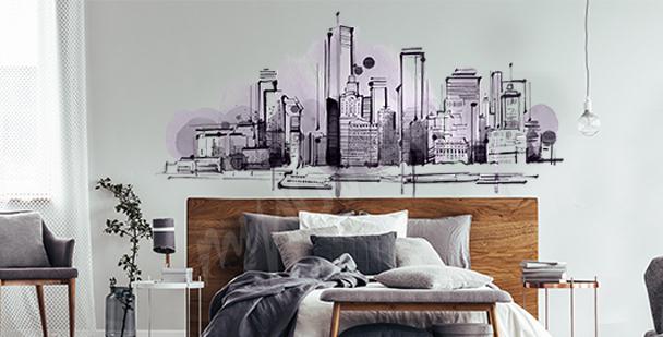 Sticker dessin pour chambre à coucher
