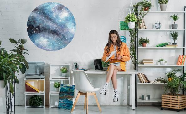 Sticker espace pour bureau
