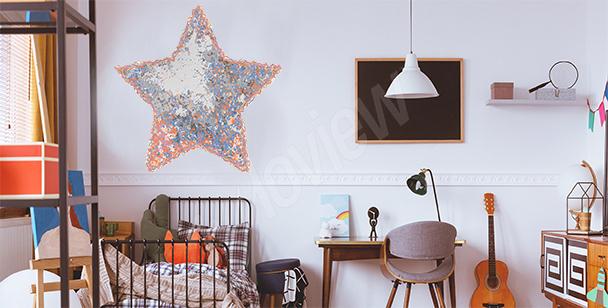 Sticker étoile pour chambre d'enfant