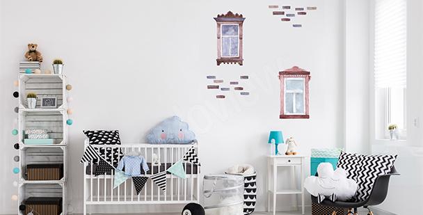 Sticker fenêtres pour chambre d'enfant