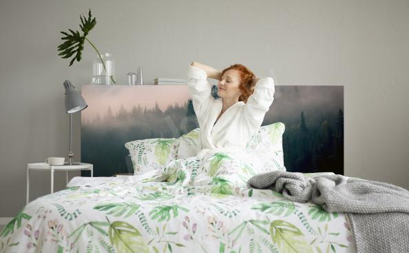 Sticker forêt matinale pour chambre à coucher