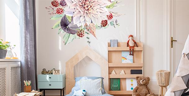 Sticker fruits pour chambre d'enfant