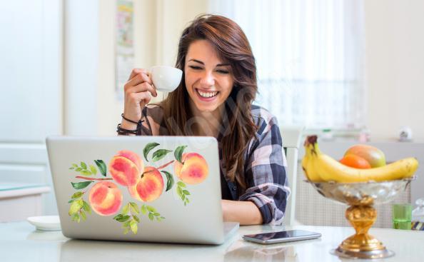 Sticker fruits pour ordinateur portable