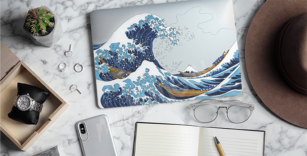Sticker Hokusai – La Grande Vague