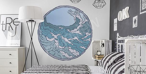 Sticker marin pour chambre à coucher