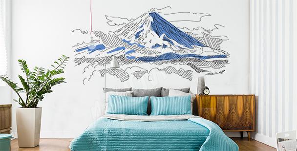 Sticker montagne en Russie