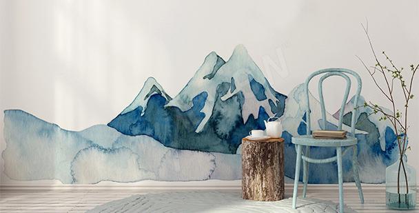 Sticker nature montagnes