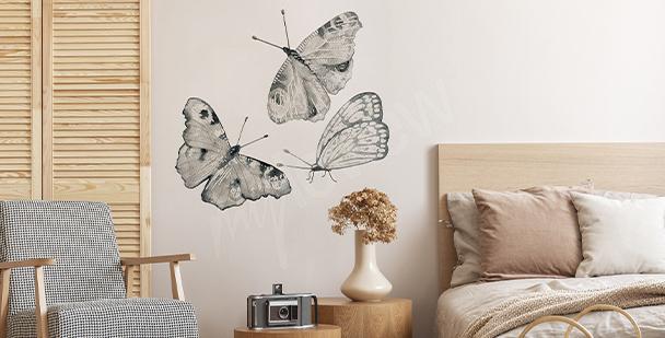 Sticker papillons pour chambre à coucher