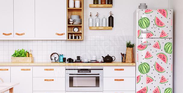 Sticker pastèques pour frigo