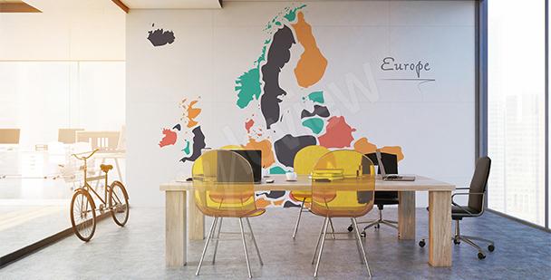 Sticker pays européens