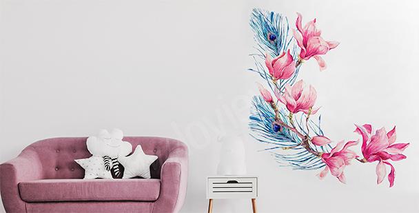 Sticker peint à l'aquarelle