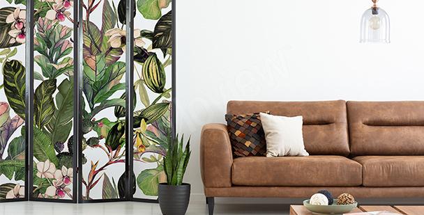 Sticker plante salon