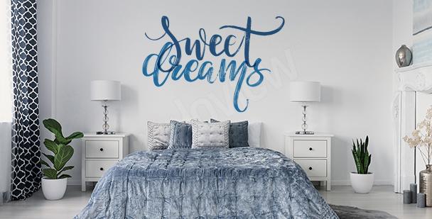 Sticker pour chambre à coucher