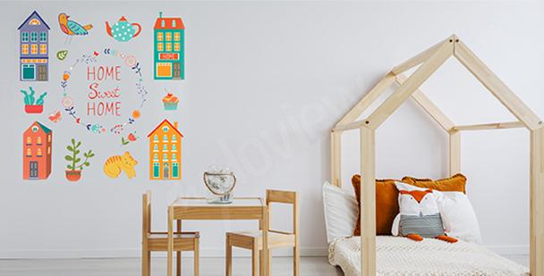 Sticker pour chambre d'enfant