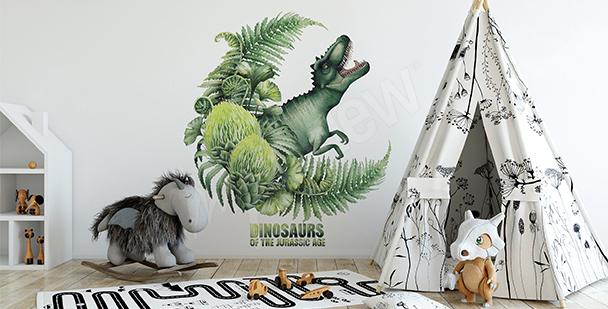 Sticker pour garçon dinosaure