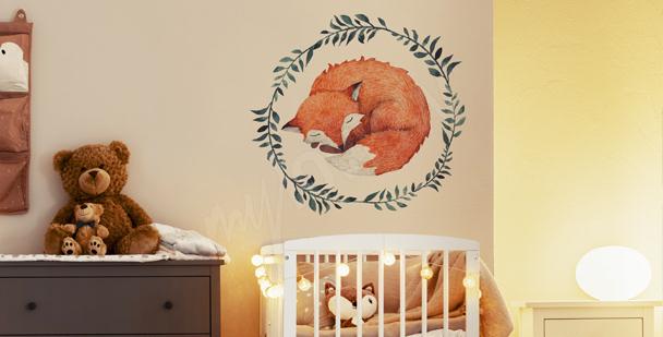 Sticker renard pour enfant