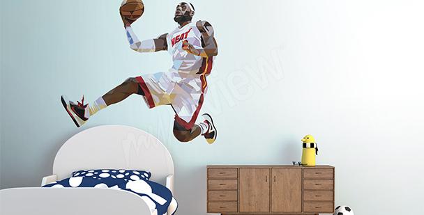 Sticker sport LeBron James