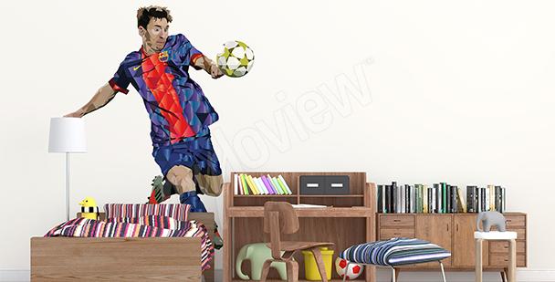 Sticker sport Leo Messi