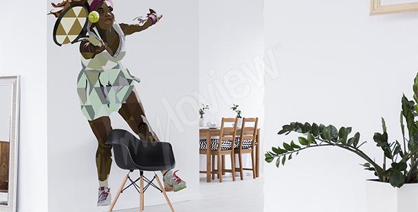 Sticker sport Serena Williams