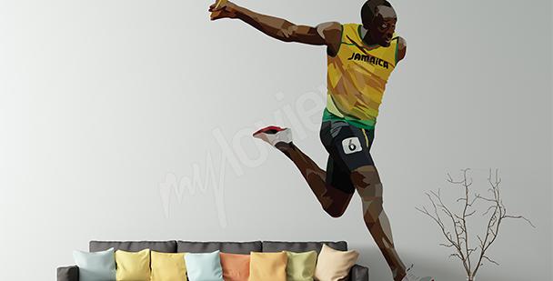 Sticker sport Usain Bolt