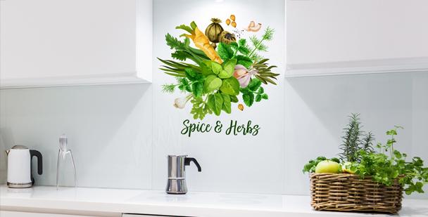 Sticker typographique pour cuisine