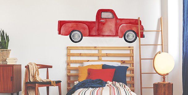Sticker voiture pour chambre à coucher