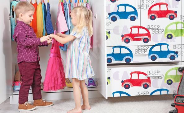 Sticker voitures pour enfants